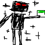 enderman of minecraft