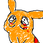 Pikachu with Buscemi Eyes