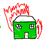 Simple House Fire