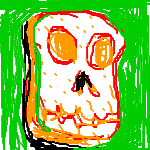 Skull of bread